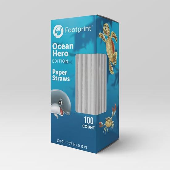 Ocean Heroes Straw Box